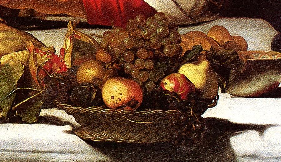 La Canestra Di Frutta Del Caravaggio Scuola Domus Picturae